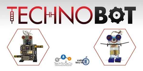 Banderolle Technobot