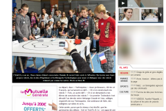 Articles de Presse Technobot